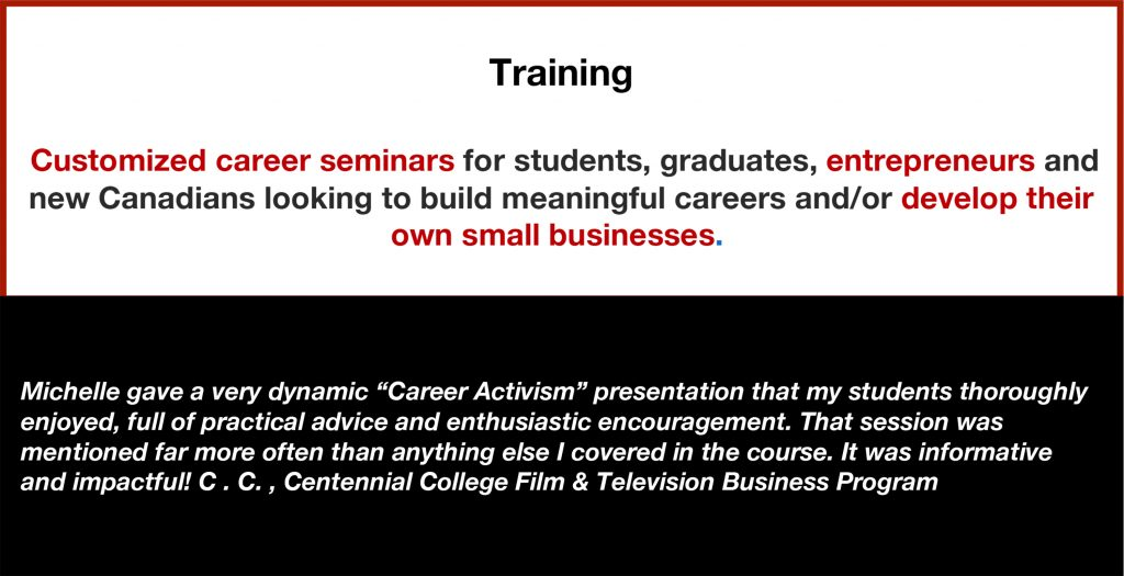 Career Services, Resources, Strategies, Positioning, Brand, Seminar, Workshop, Entrepreneur, Small Business