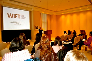 WIFT Interview Seminar, M. Michelle Nadon, Recruitment, Seminar, mediaINTELLIGENCE
