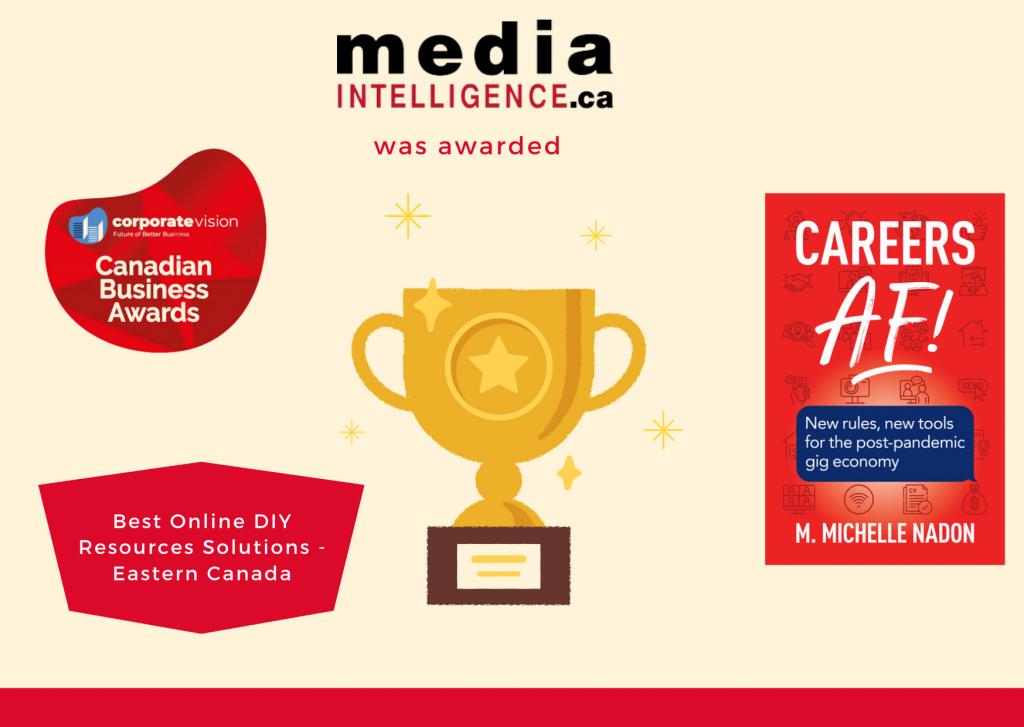 Canadian Business Award: DIY Career Tools
